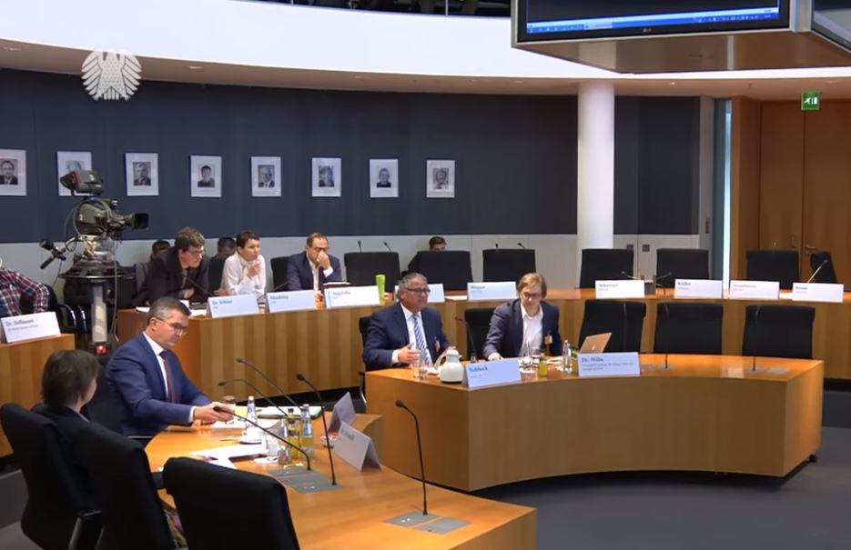 Öffentliches Fachgespräch am 10.04.2019, Ausschuss für Umwelt, Naturschutz und nukleare Sicherheit